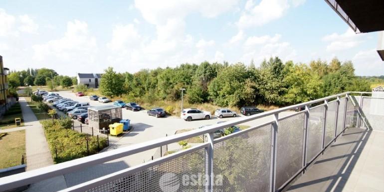 Mieszkanie na sprzedaż w apartamentowcu - Wrocław - widok z balkonu
