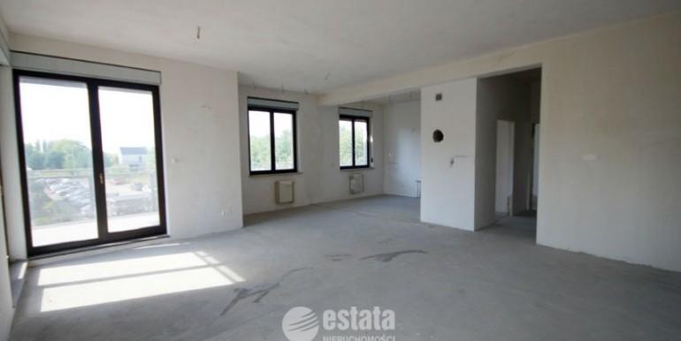 Apartament 4 pok. na sprzedaż - Wrocław Ołtaszyn - salon z aneksem