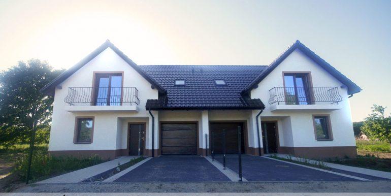 Na sprzedaż dom bliźniak w Brzezince Średzkiej koło Wilkszyna i Pisarzowic